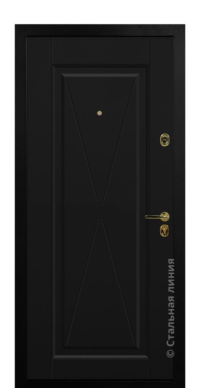 Черный RAL 9005, гладкий