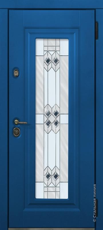 Синий капри и Белый