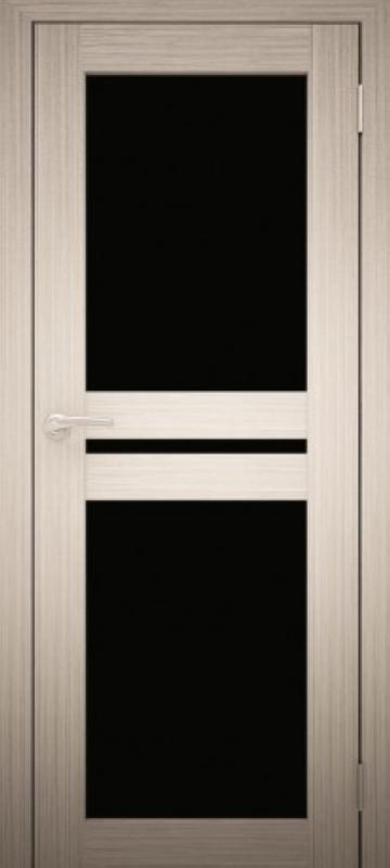 Белёный дуб с чёрным стеклом